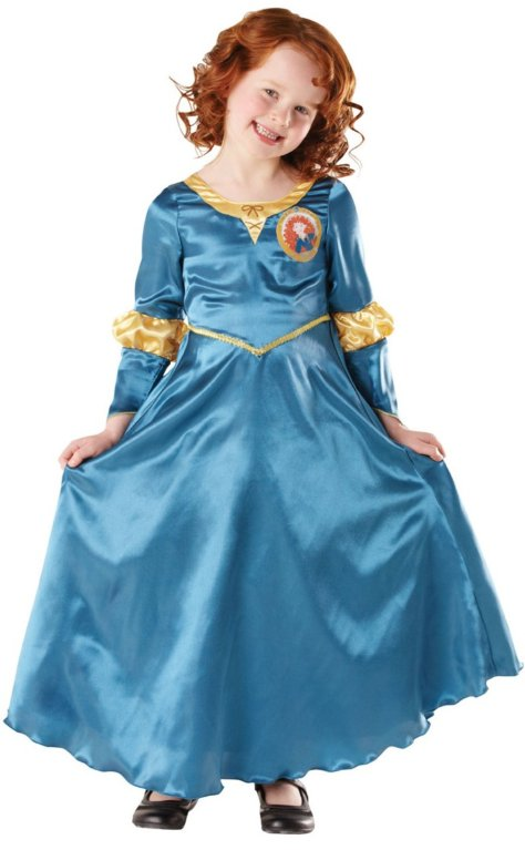Prinzessin-Geburtstag Merida-Kostüm
