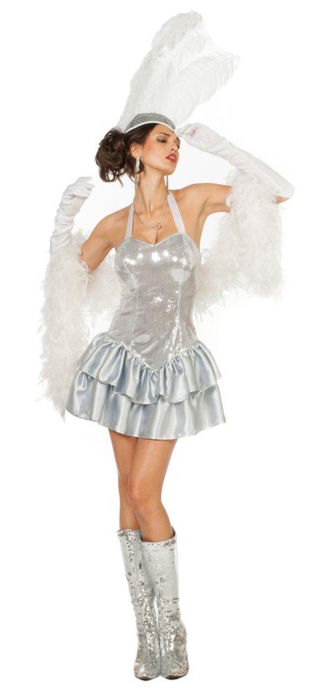 Casino-Party Showgirl Kostüm