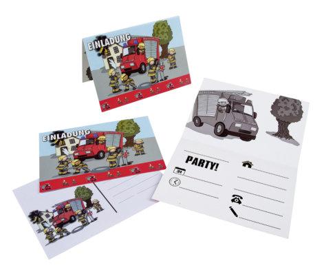 Einladung zum Feuerwehr-Geburtstag für Kinder