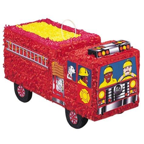 Coole Feuerwehrauto Pinata