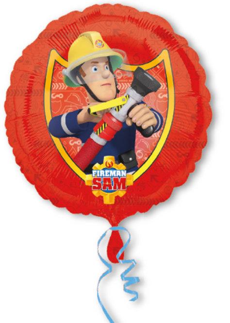 Luftballon Sam zum Feuerwehr-Geburtstag