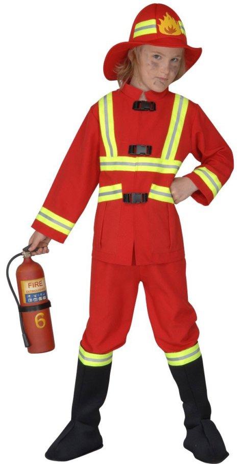 Kinderkostüm Feuerwehr-Geburtstag