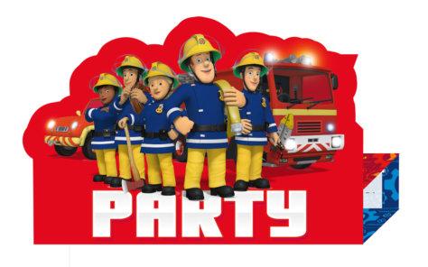 Einladungskarte zum Feuerwehr-Geburtstag