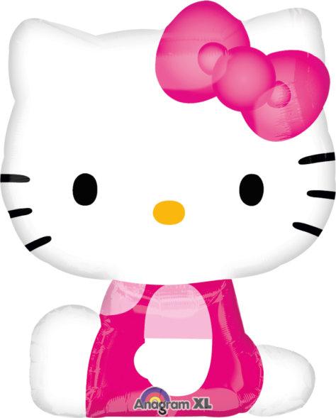 Ballon für den Hello Kitty Geburtstag
