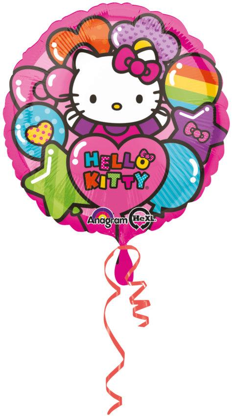Birthday Ballon Hello Kitty Geburtstag