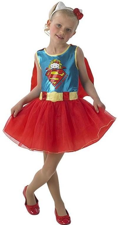 Superheldin Kitty Kostüm für Mädchen