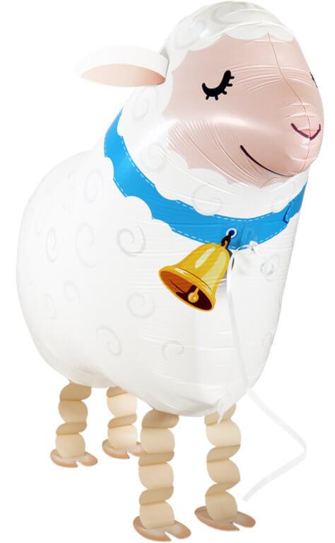 Schaf-Airwalker zum Bauernhof-Kindergeburtstag