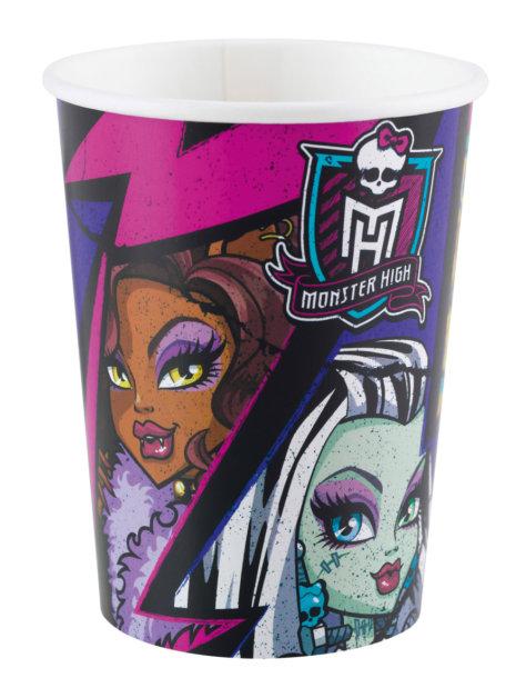 Becher für die Monster High Party