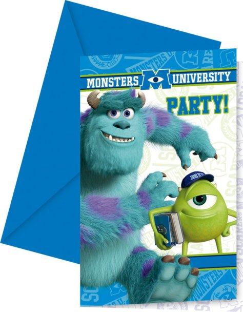Einladung zum Monster-Geburtstag