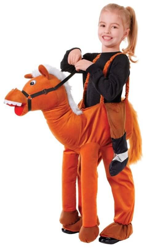 Reiter Kostüm für Kindergeburtstag Pferde