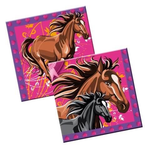 Servietten für den Kindergeburtstag Pferde