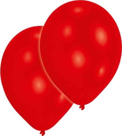 Roter Luftballon für den Pokemon-Geburtstag