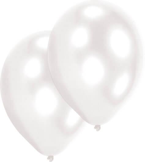 Weißer Luftballon für den Pokemon-Geburtstag