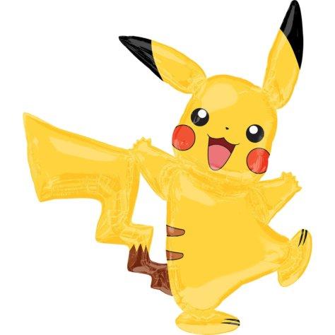 Pikachu Luftballon für den Pokemon-Geburtstag