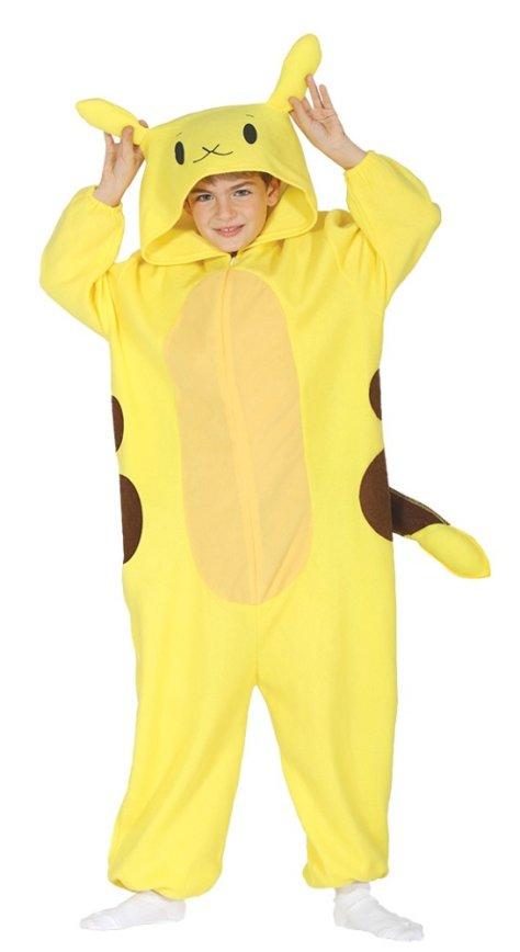 Pikakostüm für den Pokemon-Geburtstag