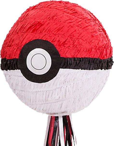 Pokeball Pinata für den Pokemon-Geburtstag