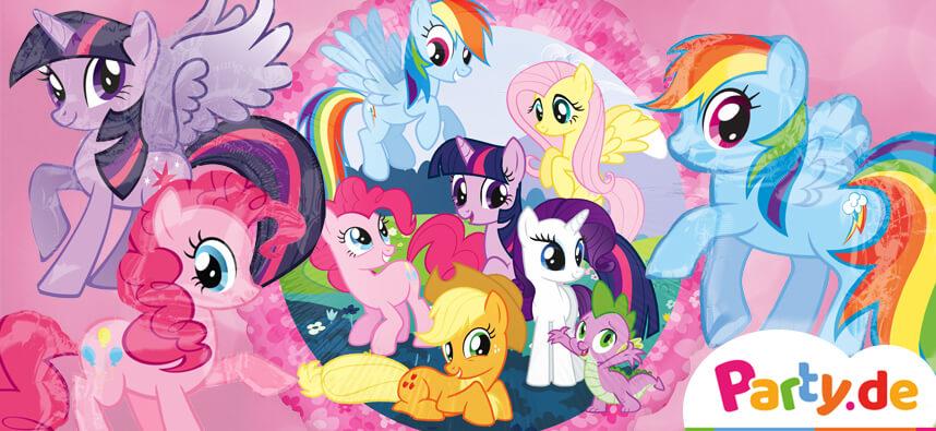 Plane Einen My Little Pony Geburtstag Mit Regenbogen Glitzer Und