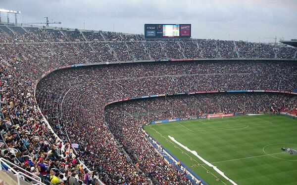 Fußball Stadion