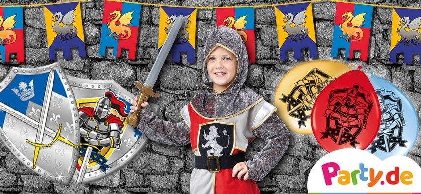 Zeitreise Ins Mittelalter Plane Einen Coolen Ritter Geburtstag