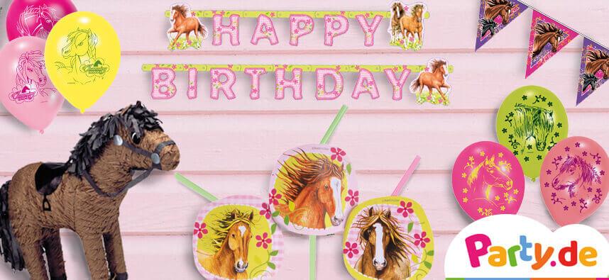 Pferde-Geburtstag
