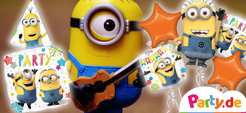 Plane Einen Minions Geburtstag Eine Einfach Unverbesserliche Party