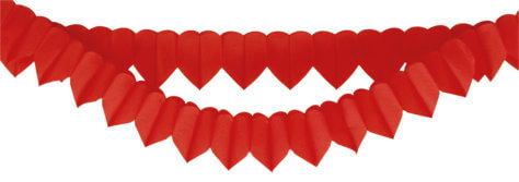 Girlande für Valentinstag Deko