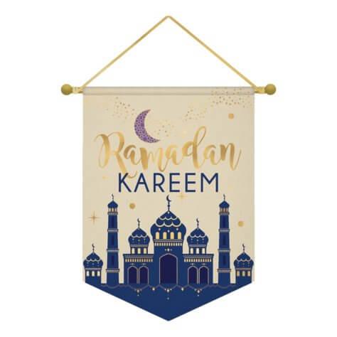 Stoffschild Ramadan Deko