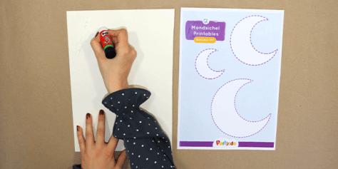 DIY Ramadan Deko - Schritt 1.1