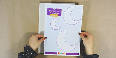 DIY Ramadan Deko - Schritt 1.2