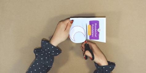 DIY Ramadan Deko - Schritt 1.3