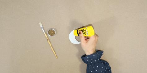DIY Ramadan Deko - Schritt 2