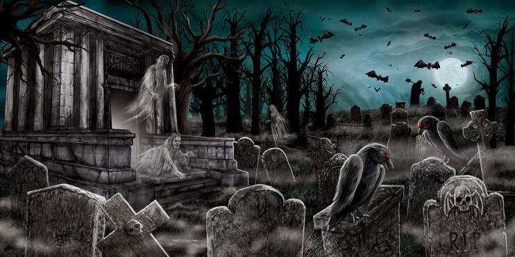 Halloween Banner ausgefallene Mottopartys