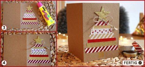 Weihnachtskarten einfach selber machen