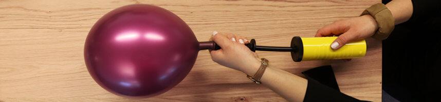 Weintrauben Kostüm - 2_Ballons befestigen