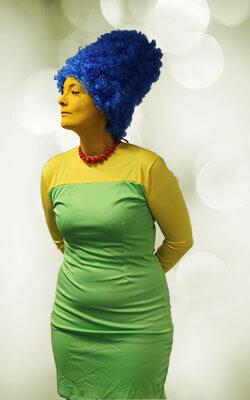 Marge Comic Girl Kostüm
