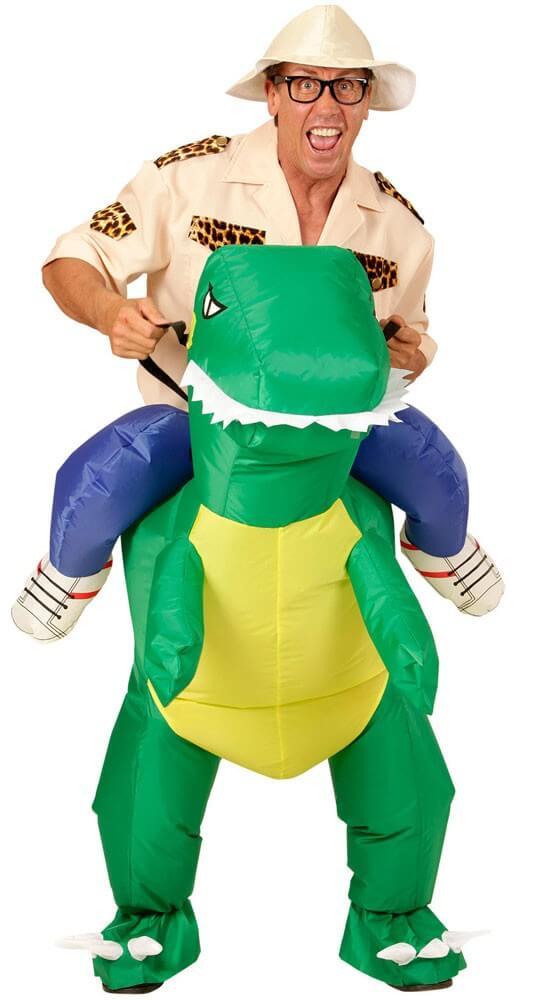Dino Kostüm aufblasbar