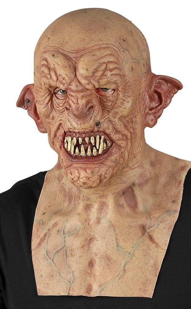 Gruselige Latexmaske