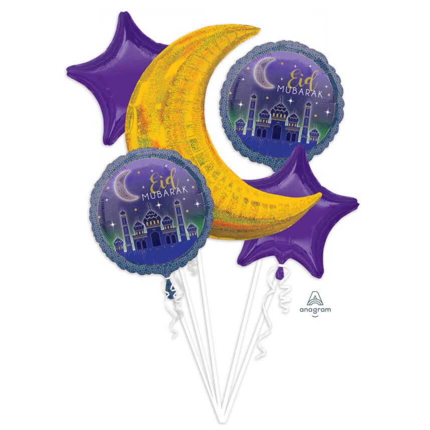 Eid Mubarak Ballon Bouquet kaufen