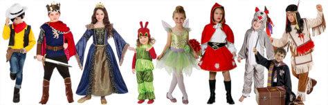 Kindheitshelden Kostüme zum Weltbuchtag