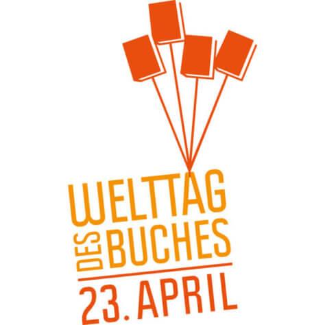 Logo Weltbuchtag am 23.04.