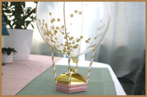 Hochzeitsgeschenk verpacken DIY Tutorial