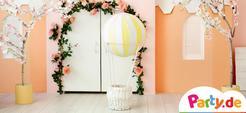 Wie du einen Heißluftballon selber basteln kannst