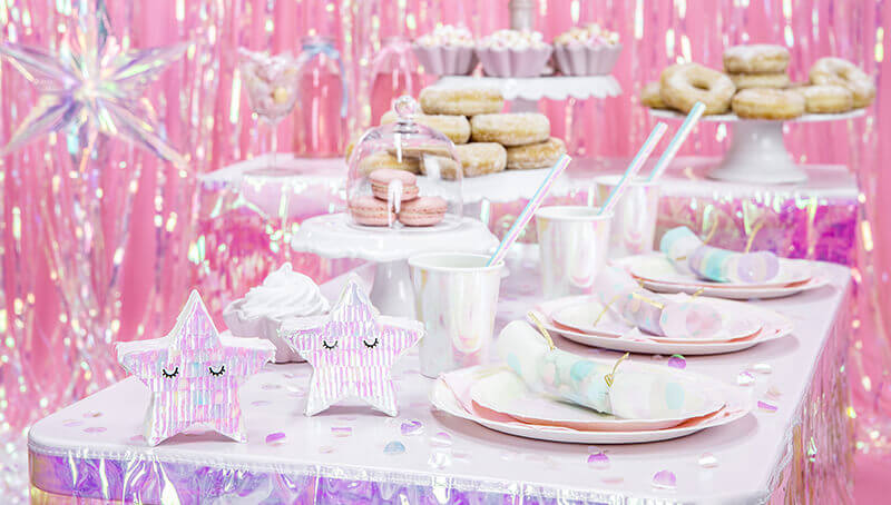 Galentine's Day Candy Bar rosa