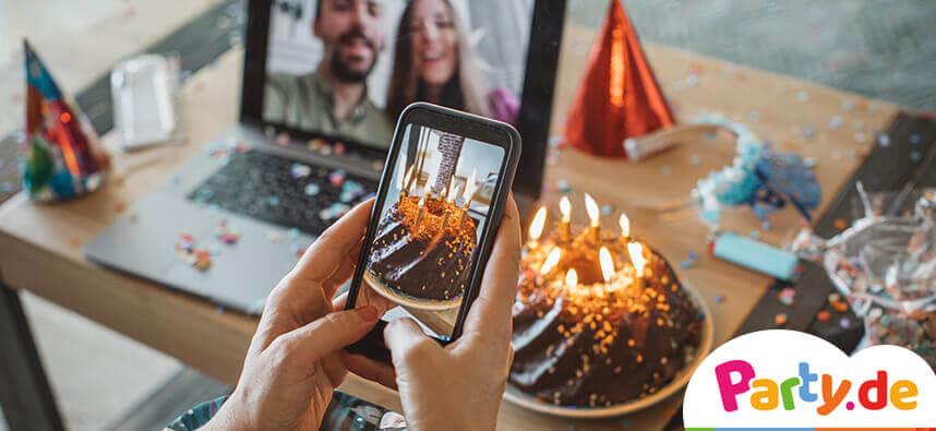 Geburtstag Online Party Video Party