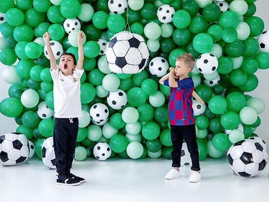 Spiele zur Fußball Geburtstagsparty