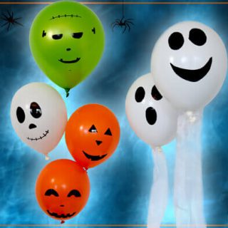Halloween Deko selber basteln
