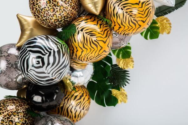 Tier Ballons für Dschungel Geburtstag
