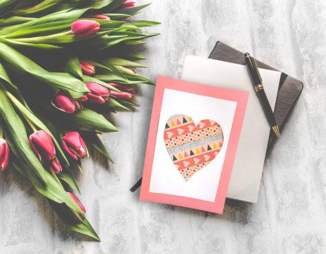Muttertagsgeschenk - DIY Muttertagskarte